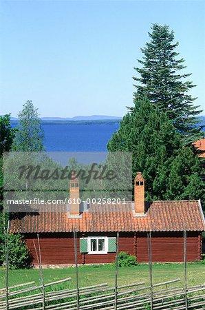 Sweden, Dalecarlia, Rättvik vicinity