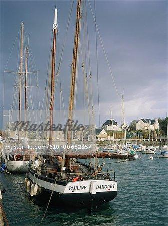 France, Brittany, Pleneuf, the port