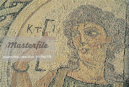 Cyprus, Kourion, mosaic.