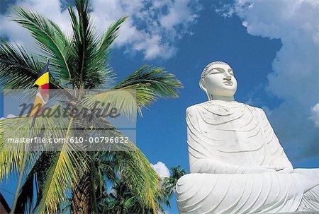 Sri Lanka, Anuradhapura, monastery