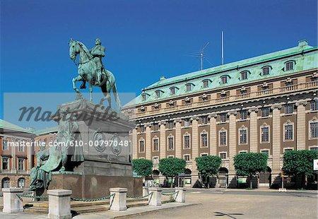 Sweden, Stockholm, Gustav Adolf Torg