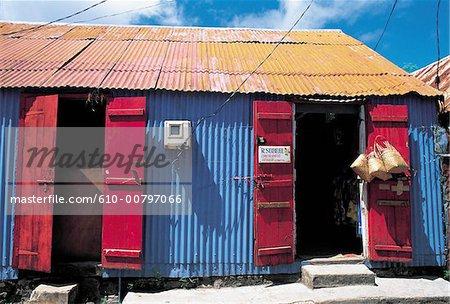 Mauritius, Rodrigues, shop