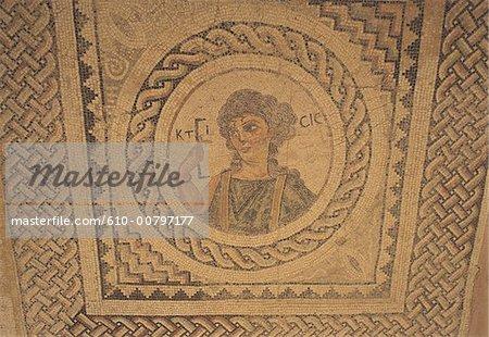 Cyprus, Paphos, mosaic.