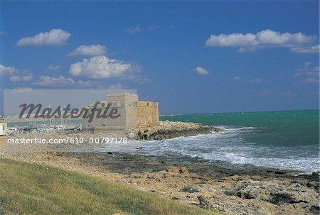 Cyprus, Paphos, castle.