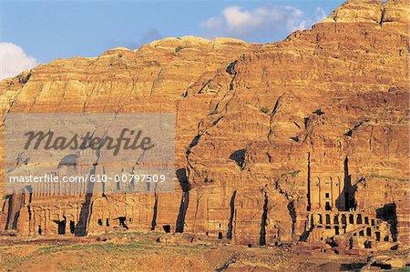 Jordan, Petra, royal graves