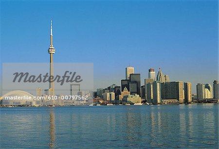 Canada, Toronto, CN tower.