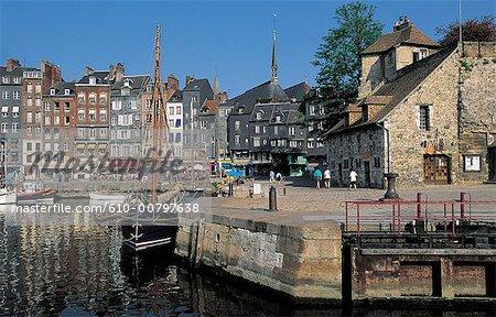 France, Normandy, port of Honfleur