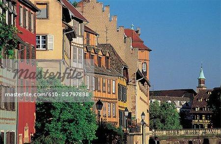 """France, Alsace, Strasbourg, """"petite France"""""""
