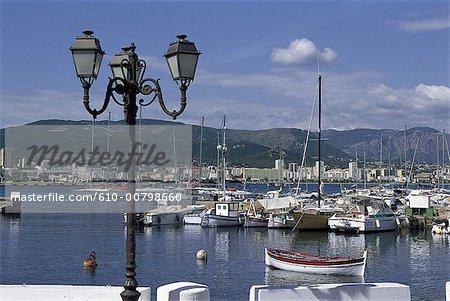 France, Corsica, Ajaccio, the port