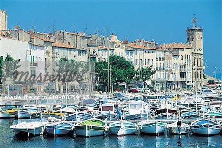 France, Provence, La Ciotat, harbour