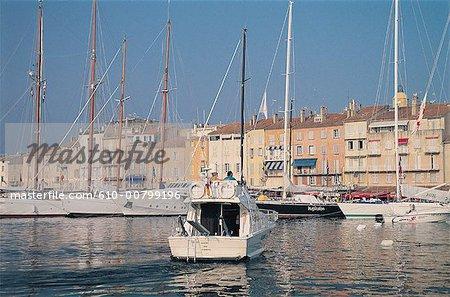 France, French Riviera, Saint Tropez, harbour