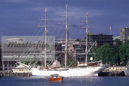 Norway, Oslo, the port