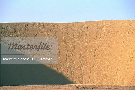 Egypt, Libyan desert, sand dune