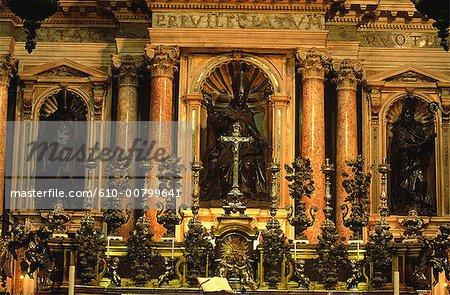 Italy, Campania, Naples, San Gennaro cathedral