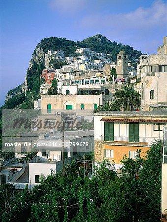 Italy, Campania, Naples, Capri