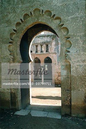Morocco, Rabat-Sale, fortress of Chellah