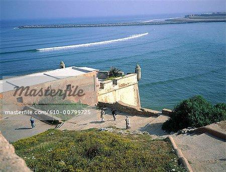 Morocco, Rabat-Sale, fortress