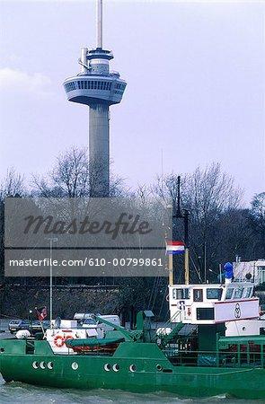 Netherlands, south Holland, rotterdam, the port