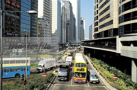 Chine, Hong Kong central