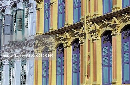 Singapour, façades