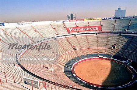 Mexico Mexico City Plaza De Toros Stock Photo Masterfile