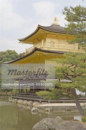 Japan, Kyoto, the Golden pavilion