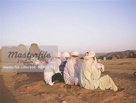 Algeria, Hoggar, Tuareg