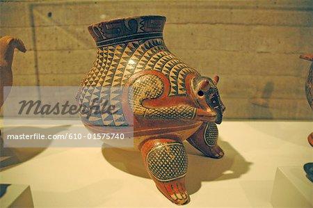 Costa Rica, San José, National Museum, Indian piece of pottery