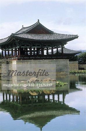 South Korea, Kyongjiu, Anapchi pavilion