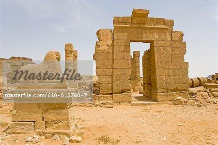 Sudan, Naga, Temple of Amon, Meroitic Period