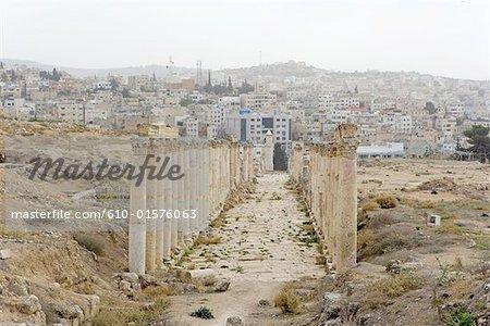 Jordan, Jerash, Temple of Zeus