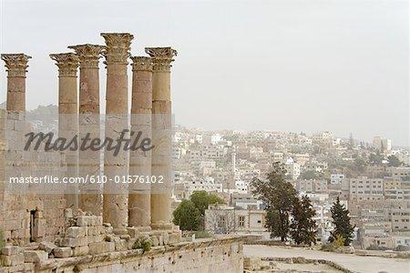 Jordan, Jerash, Artemis Temple