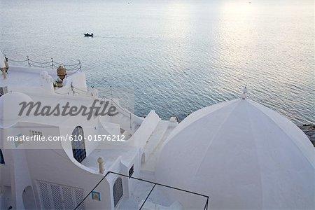 Tunisia, Hammamet, house of fishermen