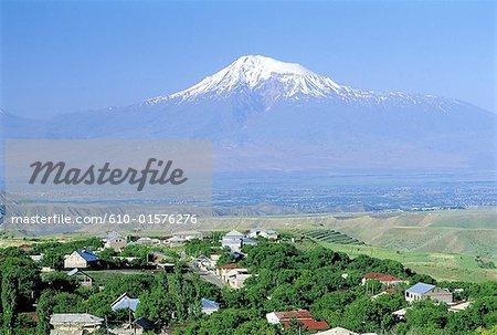 Armenia, Mount Ararat and valley