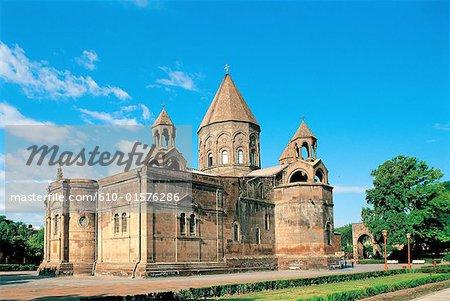 Armenia, Etchmiadzine, cathedral