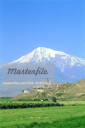Armenia, Mount Ararat and Khor Virap monastery