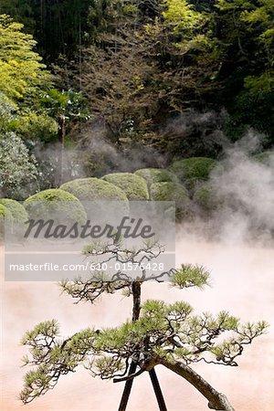 Japan, island of Kyushu, Beppu, hot springs