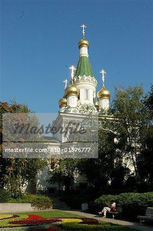 Bulgaria, Sofia, Russian Church of St Nicholas