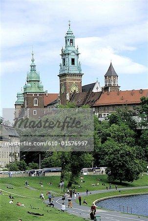 Poland, Kracow, Wawel Hill, royal castle