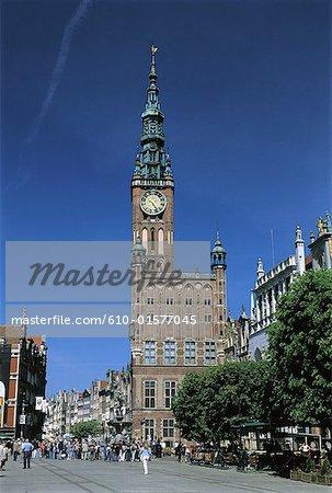 Poland, Gdansk, City hall
