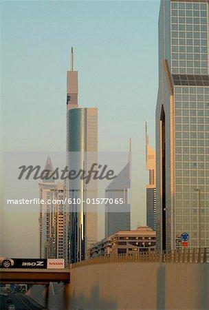 United Arab Emirates, Dubai, 21th cantury tower