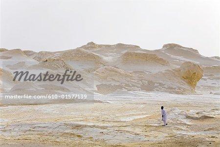 Egypt, Libyan desert, the white desert