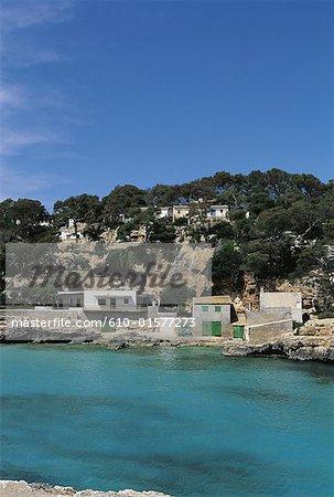 Spain, Balearic Islands, Majorca, Cala Llombards, coastal landscape