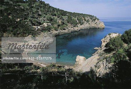 Spain, Balearic Islands, Majorca, Deia, creek