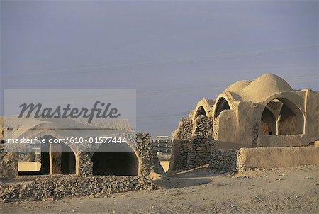 Iran, Yazd, habitations in zoroastrian village