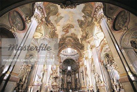 Czech Republic, Prague, inside the Saint Nicholas Church