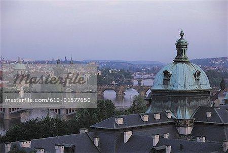 Czech Republic, Prague, general view
