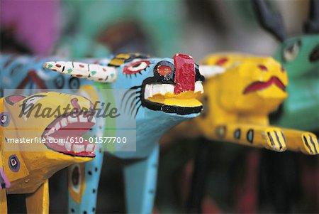 Guatemala, Altiplano, Maya craft