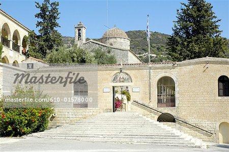 Cyprus, near Paphos, Ayios Neophytos monastery