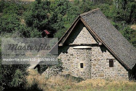 Cyprus, Galata, church of Panayia Podithou